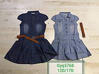 Платье для девочек оптом, Glo-story, 120-170 рр., арт. GYQ-5768