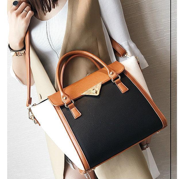 Коричневая сумка женская