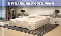Кровать деревянная Дали Люкс без подъёмного механизма из натурального дерева