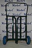 Тележка грузовая двухколесная складская (60х60 см.), фото 3