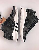 Кроссовки на мальчика подростковые Adidas Equipment EQT Черные