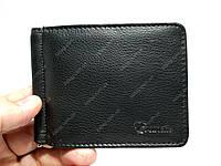 Мужской кожаный зажим/кошелек Eremette на магните для денег, повседневная носка, фото 1