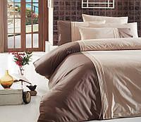 Комплект постельного белья FIRST CHOICE Deluxe Ranforce евро 10 Craze Ekru