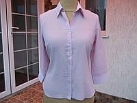 (46р) Блузка рубашка кофта свитер туника (крепдешин) НОВАЯ