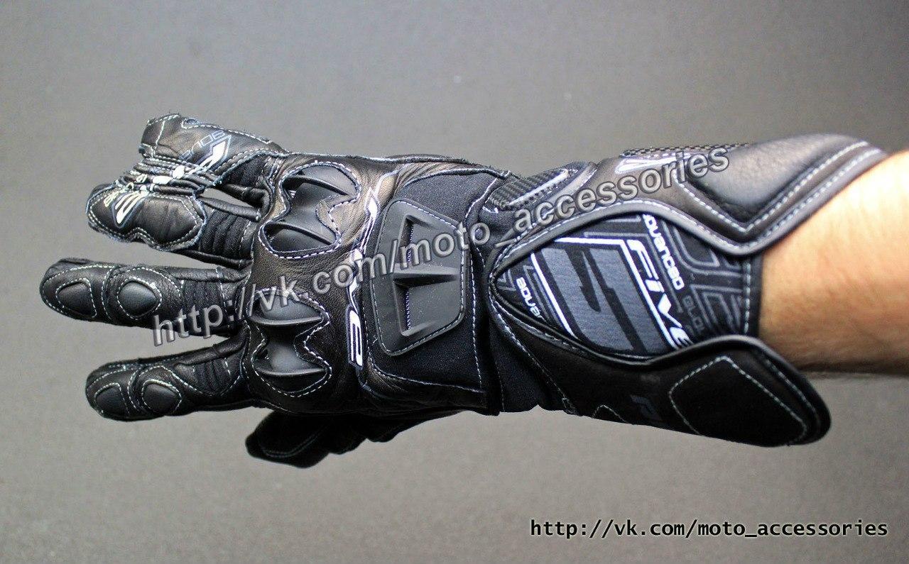 Мото перчатки кожаные Five RFX-1