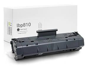 Совместимый картридж Canon Laser Shot LBP-810 (чёрный), стандартный ресурс (2.500 копий) аналог от Gravitone