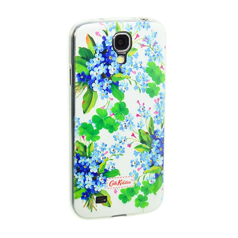 Чехол Samsung J3/J330 (2017) Silicone Diamond Cath Kidston Romantic Blue