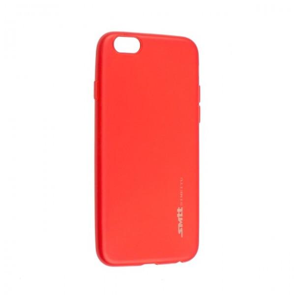 Чехол для телефона iPhone X/XS Silicone Smitt red