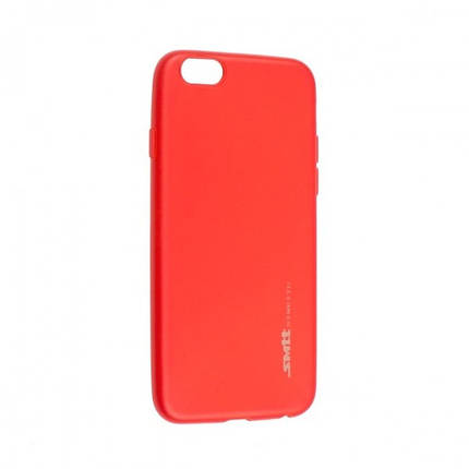 Чехол для телефона iPhone X/XS Silicone Smitt red, фото 2