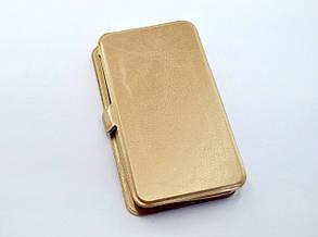 """Чехол-книжка 4you LARA 5"""" gold универсальная, фото 2"""