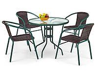 Барный стол Grand 80 / Гранд 80 Темно-зеленый (Halmar ТМ)