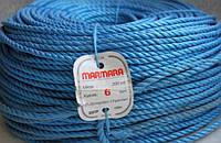 Полипропиленовая верёвка MARMARA 6 (200 м. крученая, для больших нагрузок)