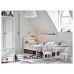 IKEA SUNDVIK Детский стул, белый  (601.963.58), фото 4