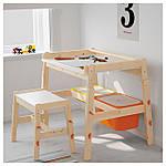 IKEA FLISAT Детская скамья, регулируемая  (802.907.79), фото 4