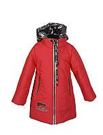 Куртка для девочки  1939 весна-осень, размеры на рост от 122до 140 возраст от 5 до 10 лет, фото 1