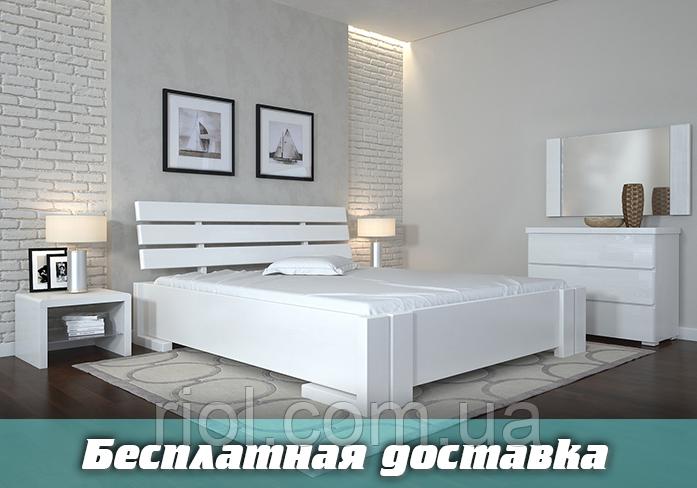 Кровать деревянная Домино с подъемным механизмом