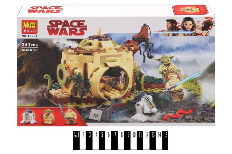 Конструктор Bela Space Wars Хижина Йоды 10904, 241 дет. (Звездные войны)