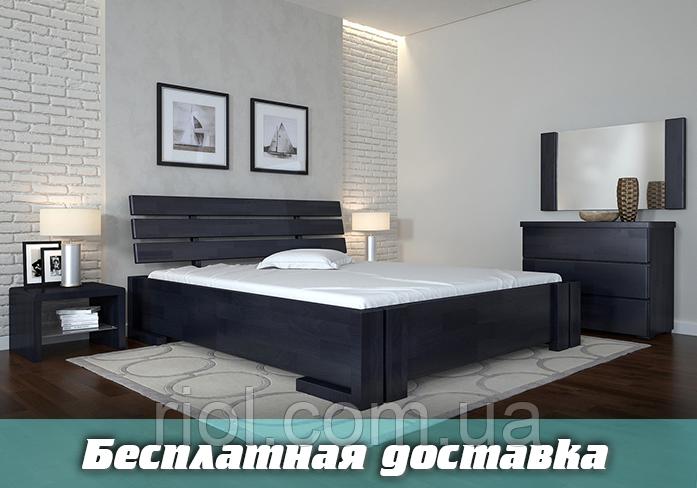 Кровать деревянная Домино