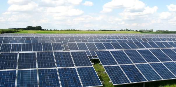 Система креплений солнечных батарей для наземного размещения промышленных СЭС 44 СБ, 1х1,6м