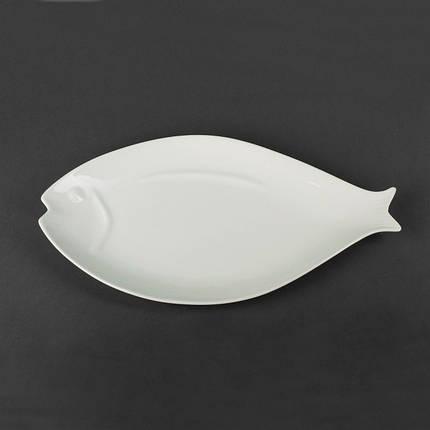 Блюдо для рыбы фарфоровое «Рыба» Helios 410х220 мм. HR1442, фото 2