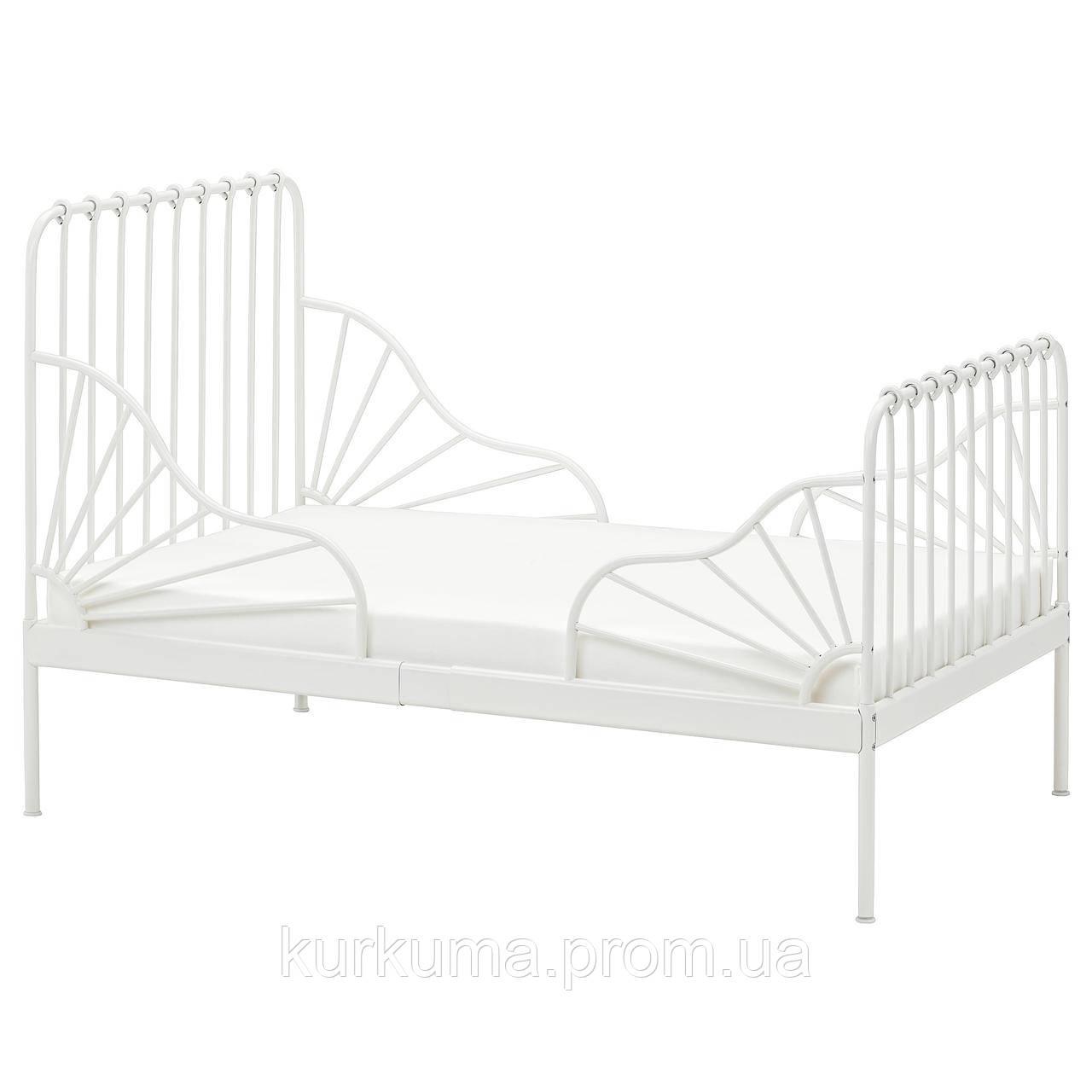 IKEA MINNEN Каркас раздвижной кровати, белый  (291.239.58)