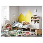 IKEA MINNEN Каркас раздвижной кровати, белый  (291.239.58), фото 3