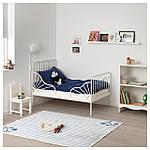 IKEA MINNEN Каркас раздвижной кровати, белый  (291.239.58), фото 4