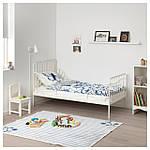 IKEA MINNEN Каркас раздвижной кровати, белый  (291.239.58), фото 5