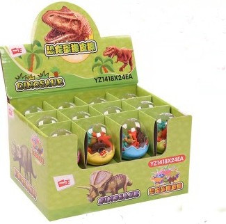 Дитяча іграшка. Маленькі динозаври в упаковці яйця
