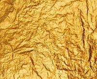 Поталь свободная, ЗОЛОТО, №2, (имитация) в листах, 16х16см, в карт.буклете, 10 листов