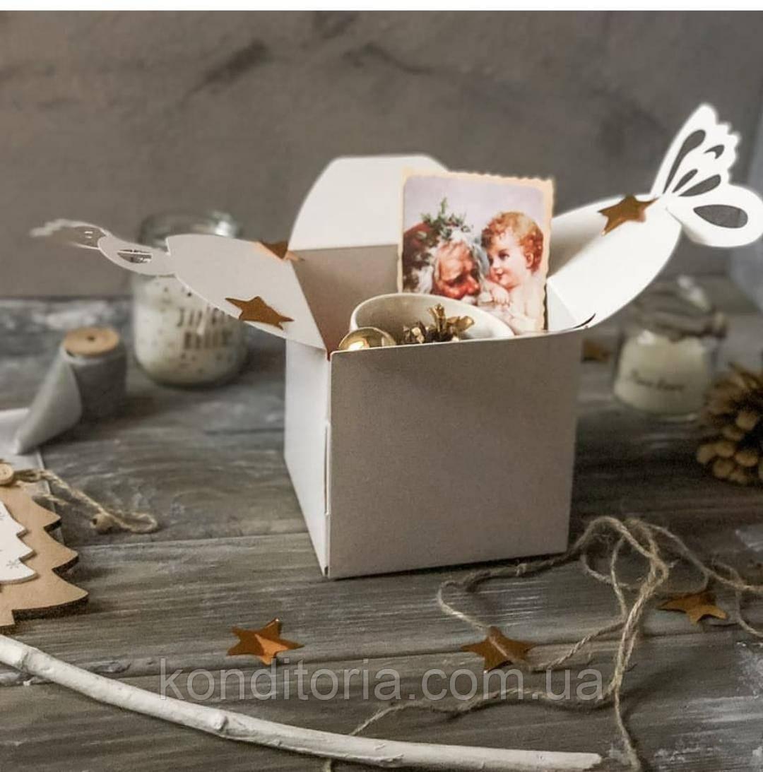 Коробка для пасхи без окошка 12*12*12 см
