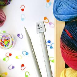 Толстые спицы для вязания, 8 мм