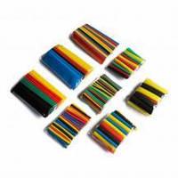 Набір кольорових термозбіжних трубок 160 шт (1.5; 2.5; 4.0; 6.0; 10; 13мм)
