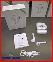 Беспроводные наушники i8 mini TWS Bluetooth Airpods с кейсом