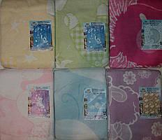 Детское одеяло байковое 100х140см