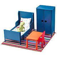 IKEA HUSET Мебель для куклы, спальня  (902.922.59)