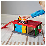 IKEA LILLABO Игрушечная СТО  (201.714.73), фото 2