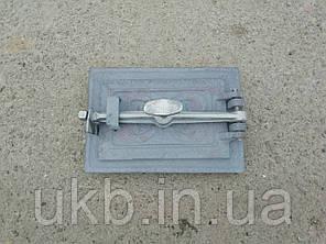 "Дверка поддувальная 250*170 мм ""ДРОВЯНАЯ-2"" / Дверцята піддувні 250*170 мм ""ДРОВ""ЯНІ-2"", фото 2"