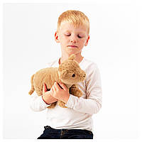 IKEA DJUNGELSKOG Мягкая игрушка, лев  (804.028.14)