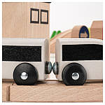 IKEA LILLABO Железнодорожный набор 45 шт.  (203.300.66), фото 3