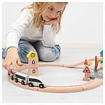 IKEA LILLABO Железнодорожный набор 45 шт.  (203.300.66), фото 4