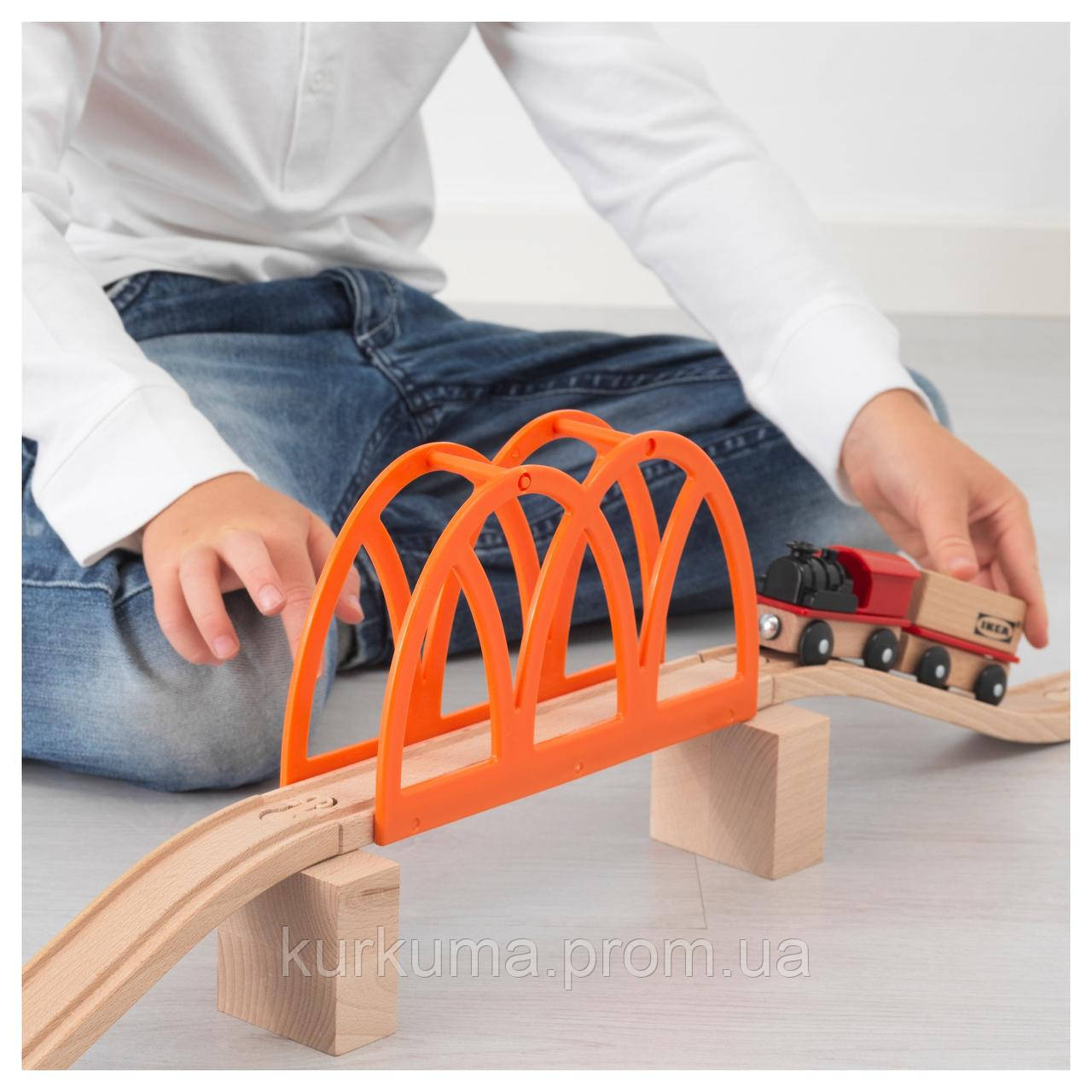 IKEA LILLABO Железнодорожный мост 5 шт.  (103.200.63)