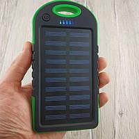 Power Bank Solar Samsung 20 700 mAh Солнечное зарядное повер банк внешний аккумулятор Самсунг зеленый реплика