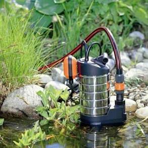 Насос дренажный для грязной воды Gardena Premium 20000, фото 2