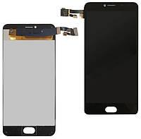 Дисплей (LCD) Umidigi A1 Pro + сенсор чёрный