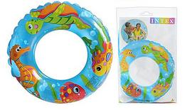 Детский развивающий надувной круг.Круг надувной яркий.Надувной круг для воды.