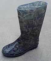 Мужские резиновые сапоги Тёмный камуфляж