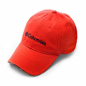 Бейсболка Columbia оранжевая, кепка