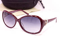 Яркие женские очки с футляром