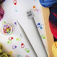 Спицы для толстой пряжи, 10 мм
